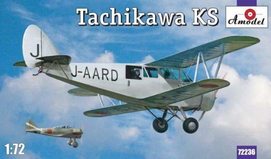 Amodel Tachikawa KS makett