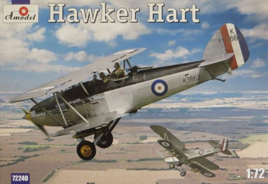 Amodel Hawker Hart makett