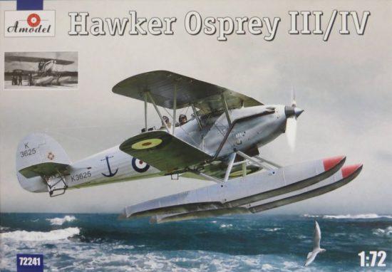 Amodel Hawker Osprey III/IV makett