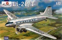 Amodel Lisunov Li-2P/T Soviet passenger aircraft makett