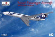 Amodel Tupolev Tu-134A LOT airlines makett