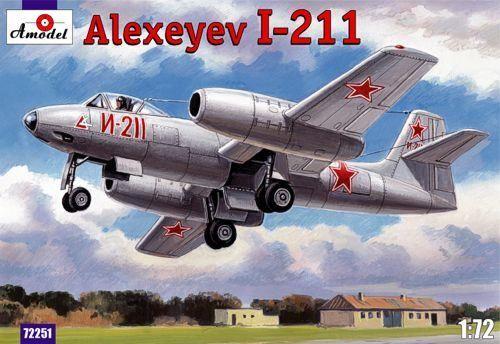 Amodel Alexeyev I-211 makett