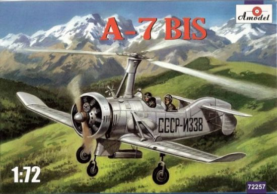 Amodel A-7bis Soviet autogiro makett