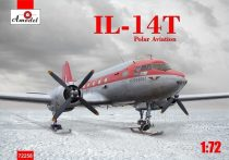 "Amodel Ilyushin Il-14Т ""Crate"" Polar Expedition makett"