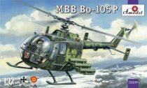 Amodel MBB Bo-105P helicopter makett
