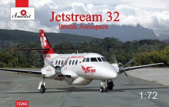 Amodel Jetstream 32 British airliner makett