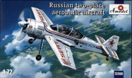 Amodel Sukhoi Su-29 Russian two-place aerobatic