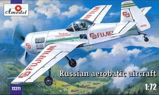 Amodel Su-31 Russian aerobatic aircraft makett