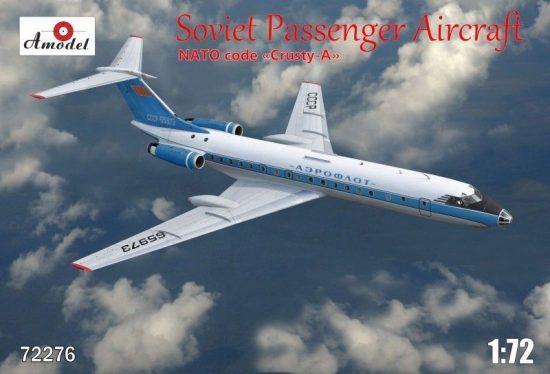Amodel Tupolev Tu-134A Aeroflot airlines makett