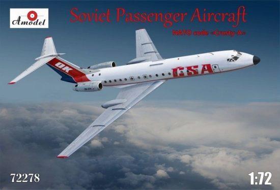 Amodel Tupolev Tu-134A CSA