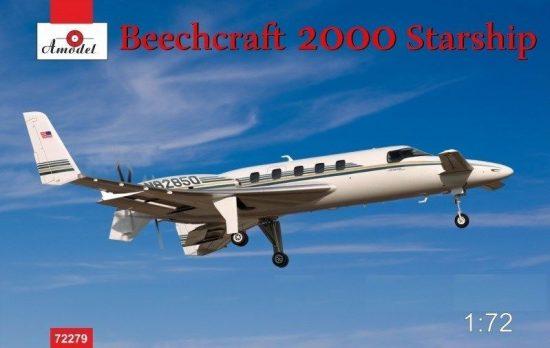 Amodel Beechcraft 2000 Starship N82850 makett