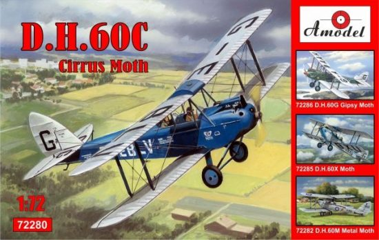 Amodel de Havilland DH.60C Cirrus Moth