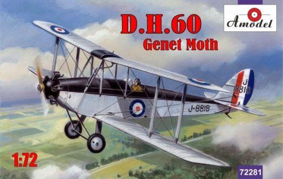 Amodel de Havilland DH.60 Genet Moth makett