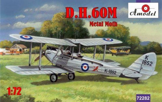 Amodel de Havilland DH.60M Metal Moth makett