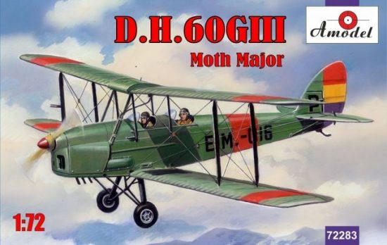 Amodel de Havilland DH.60GIII Moth Major makett