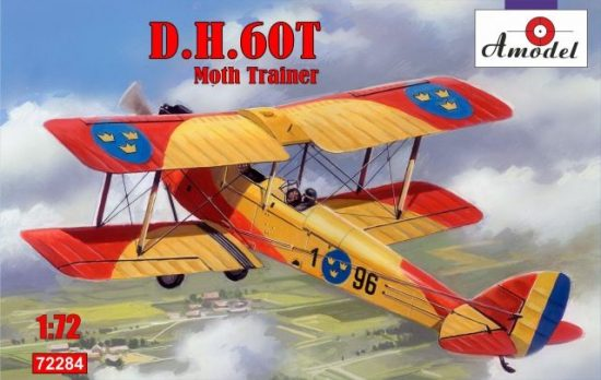Amodel de Havilland DH.60T Moth Trainer