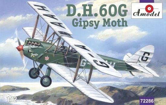 Amodel de Havilland DH.60G Gipsy Moth makett