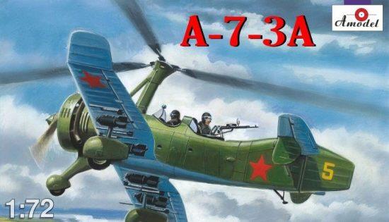 Amodel A-7-3A Soviet autogiro makett