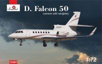 Amodel Dassault Falcon 50 with winglets makett