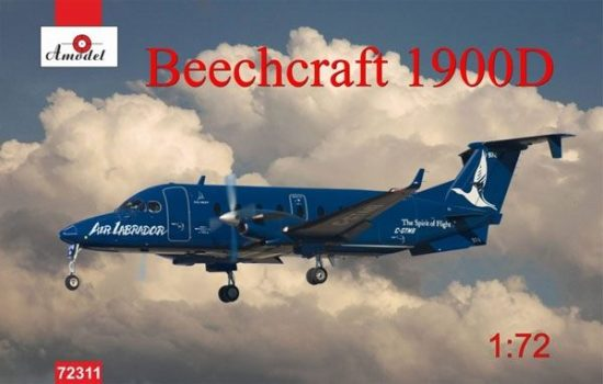 Amodel Beechcraft 1900D makett