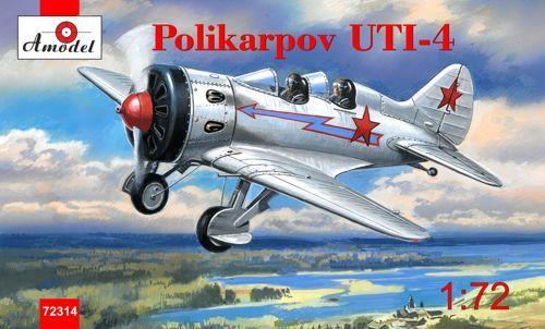 Amodel Polikarpov UTI-4. Re-release makett