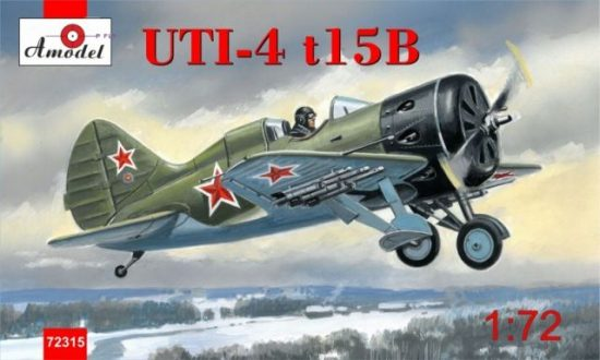 Amodel Polikarpov UTI-4 t15B fighter