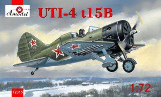 Amodel Polikarpov UTI-4 t15B fighter makett
