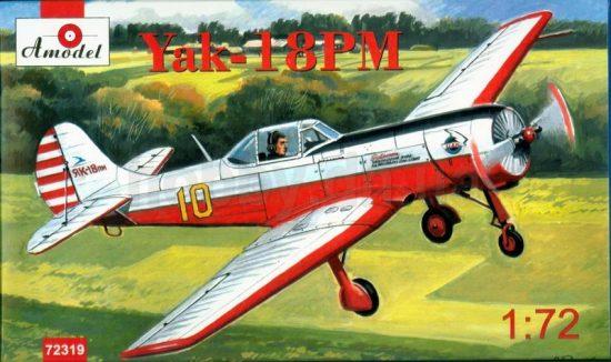 Amodel Yakovlev Yak-18PM aerobatic aircraft makett