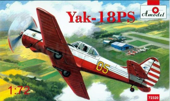 Amodel Yakovlev Yak-18PS aerobatic aircraft makett