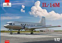 Amodel Ilyushin IL-14M transport aircraft makett