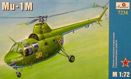 Amodel Mil Mi-1M Soviet helicopter