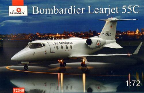 Amodel Bombardier Learjet 55C makett