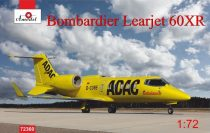 Amodel Bombardier Leajet 60xR ADAC ambulance makett