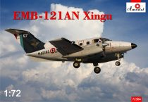 Amodel Embraer EMB-121AN Xingu France makett