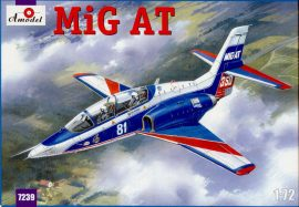 Amodel Mikoyan MIG-AT Russian modern trainer