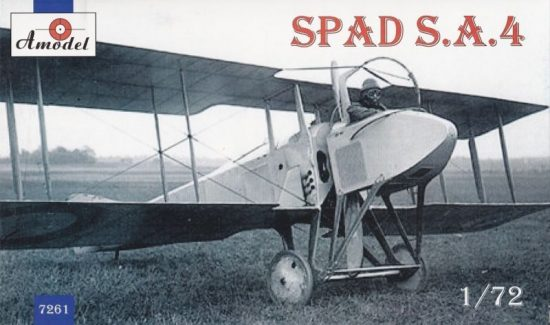Amodel SPAD S.A.4 French WWI fighter makett