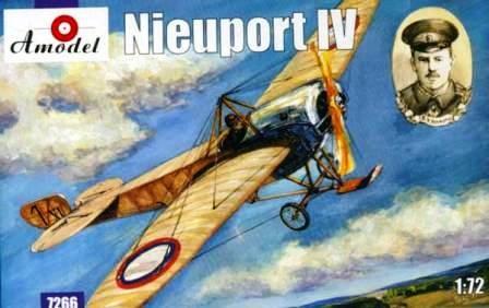 Amodel Nieuport IV makett