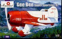 Amodel Gee Bee Super Sportster R1 Aircraft makett