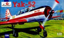 Amodel Yakovlev Yak-52 Soviet two-seat sporting