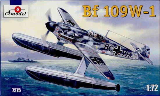 Amodel Messerschmitt Bf-109W Ger. WWII fighter makett
