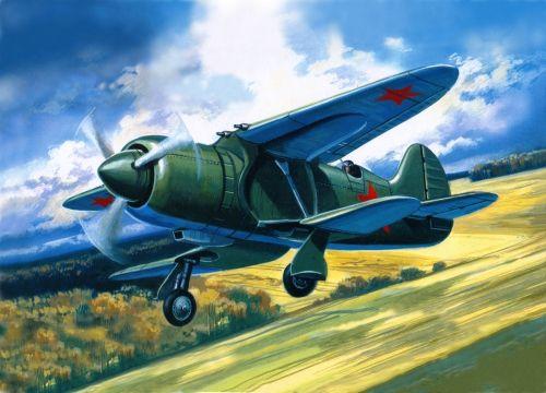 Amodel IS-2 Soviet experimental fighter makett