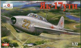 Amodel Yakovlev Yak-17UTI Soviet jet fighter