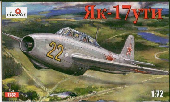 Amodel Yakovlev Yak-17UTI Soviet jet fighter makett