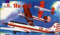 Amodel Yakovlev Yak-53 single-seat sporting makett