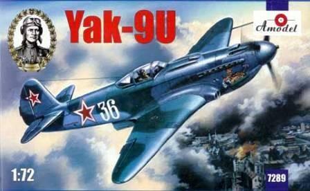 Amodel Yakovlev Yak-9U Soviet fighter makett