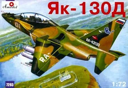 Amodel Yakovlev Yak-130D Russian makett