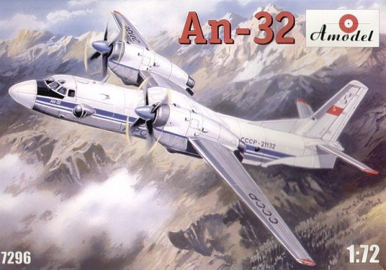 Amodel Antonov An-32 Soviet transport aircraft