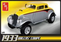 AMT 1933 Willys Coupe makett