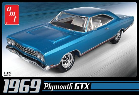 AMT 1969 Plymouth GTX makett