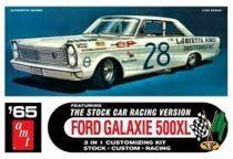AMT 1965 Ford Galaxie Stock Car makett